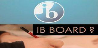 CBSE, ICSE, IB, State board
