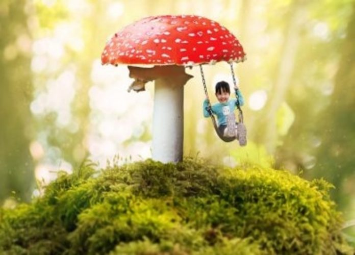 Connecting Child With Nature