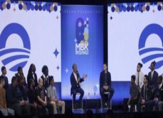 Former US president Obama addresses toxic masculinity