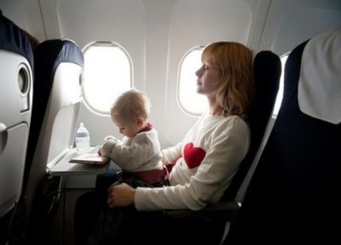 Travelling with your baby for the first time