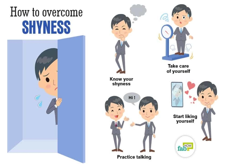 how to overcome shyness at school