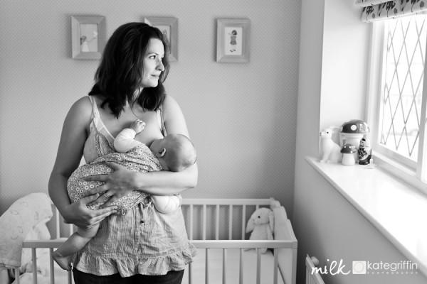 Bond over breastfeeding