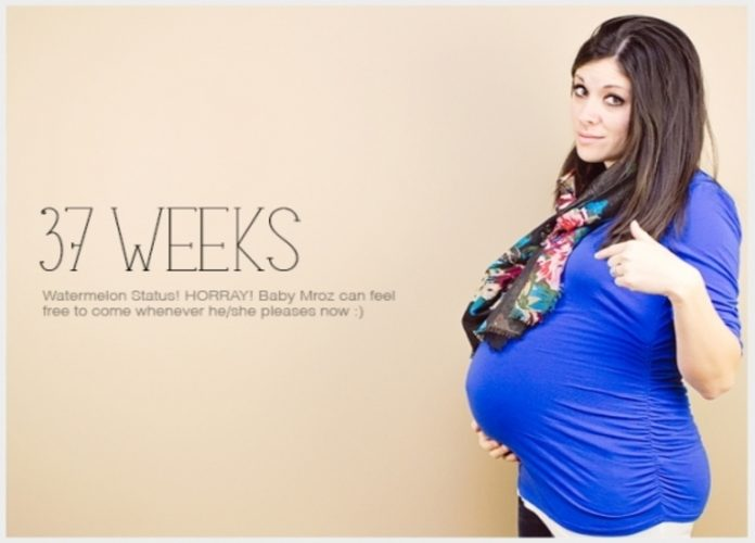 37 weeks pregnant what to expect
