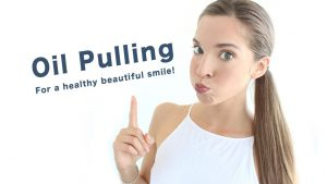 Coconut oil pulling for cavity