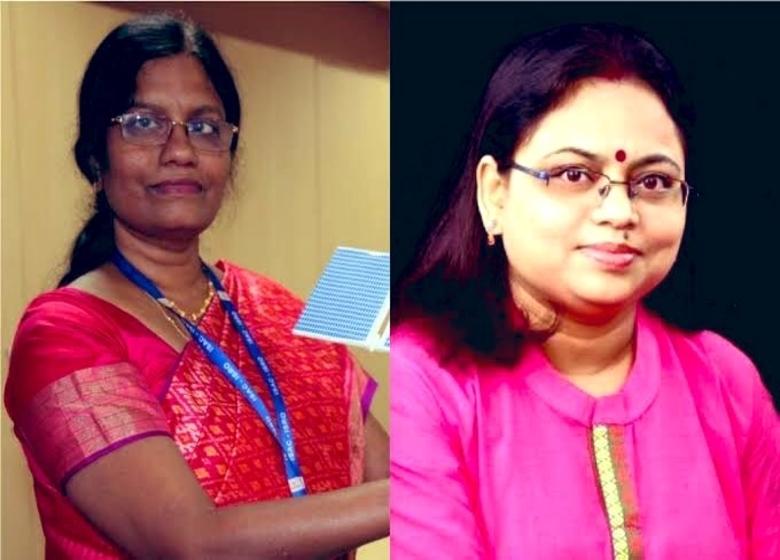 M Vanitha and Ritu Karidhal, women behind Chandrayaan-2