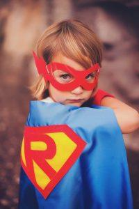 Effect of superheros on children