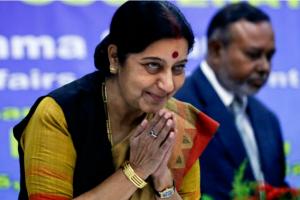 Sushma Swaraj died .