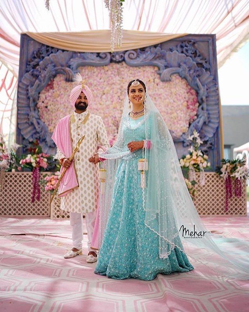 Bridal Lehanga Ideas For Day Wedding