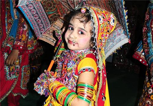 How To Dress up Your Kids for Navratri Festival?