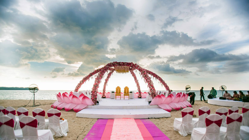 exotic wedding destination in india
