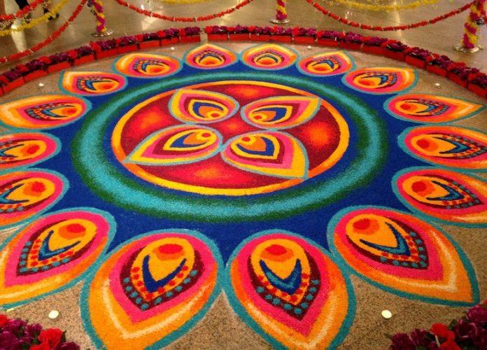 8 Simple And Beautiful Rangoli Designs For Diwali