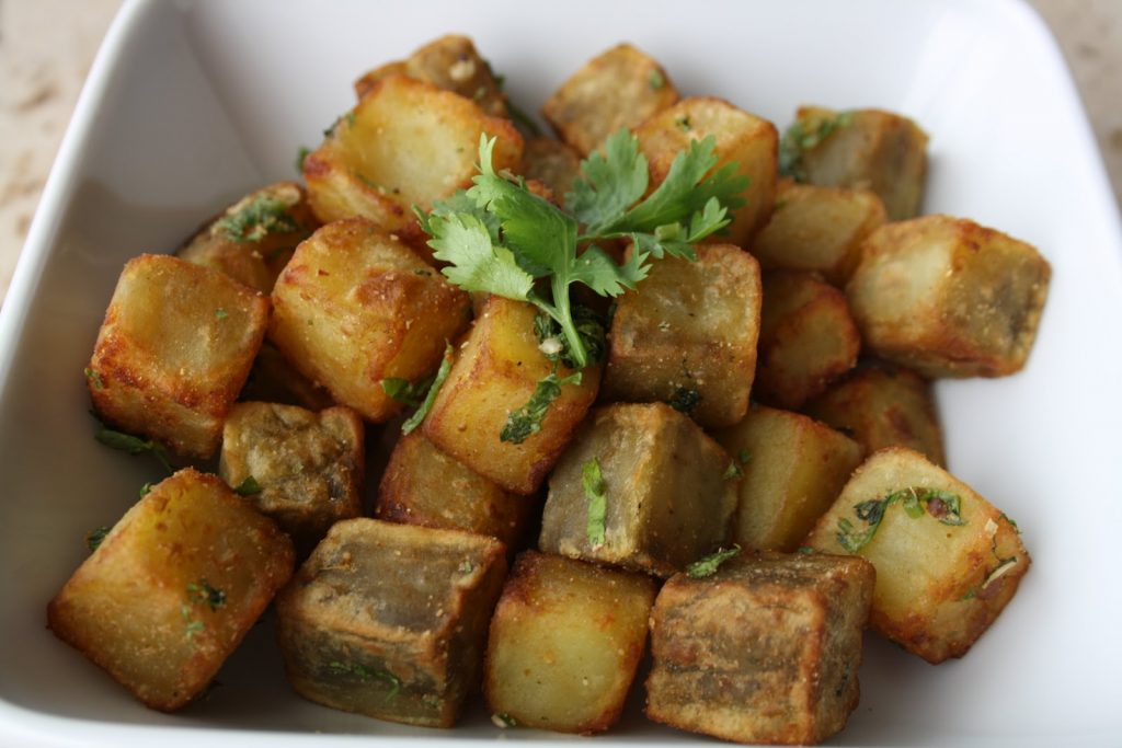 healthy indian street food