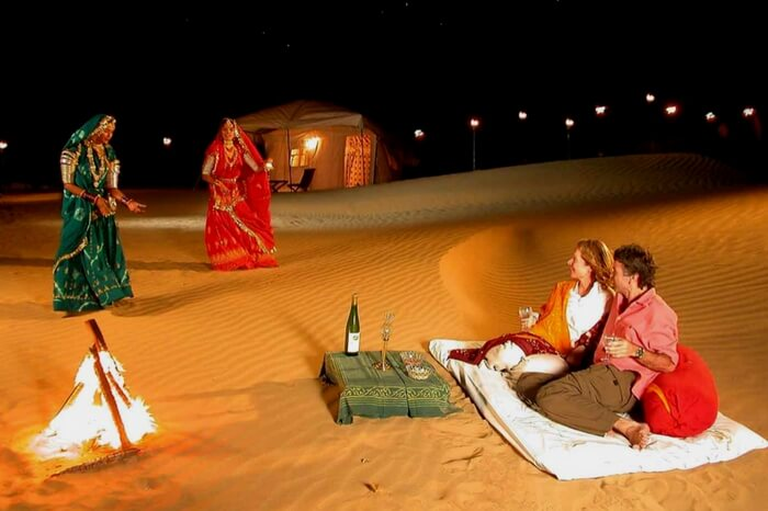 Warm places in india