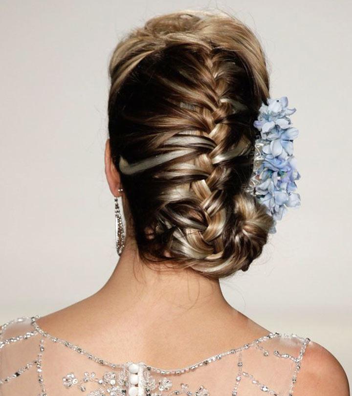 8 Braid Buns To Try This Wedding Season
