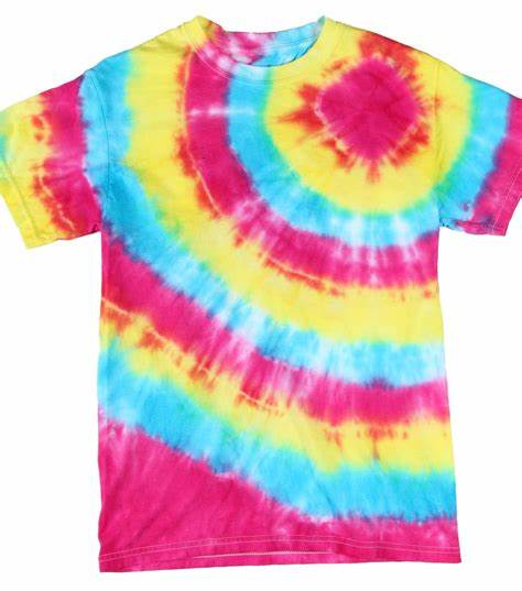 Creative Ideas To Tie-Dye Shirts With Kids
