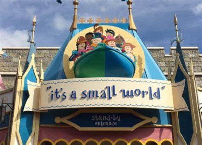 Adorable Grandpa Recreates Disney Ride – It's A Small World