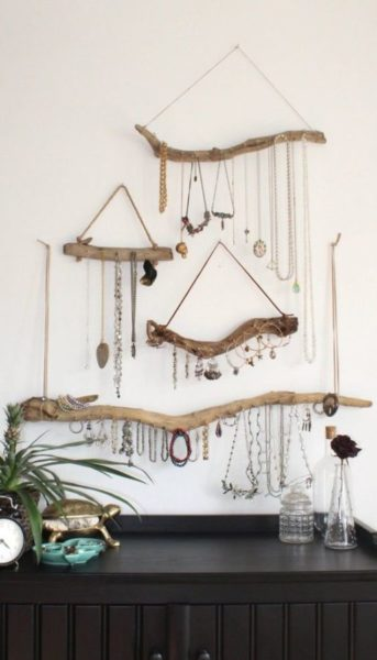 Creative Jewelry Organizing Ideas