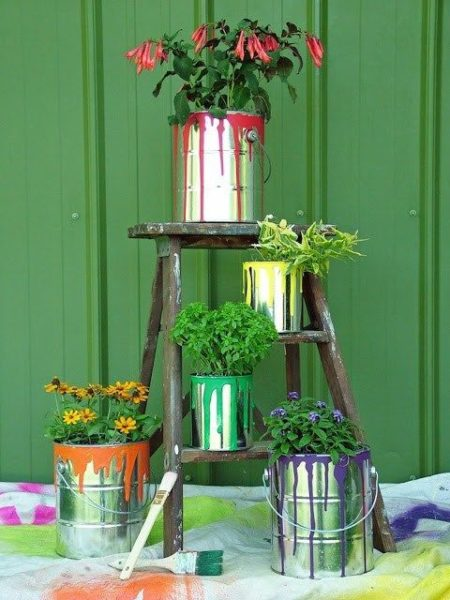 Exciting DIY Planter Ideas For Inspirati