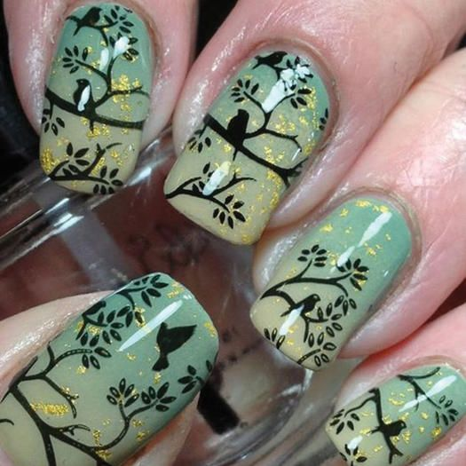Animal Themed Nail Art Designs For Animal Lovers