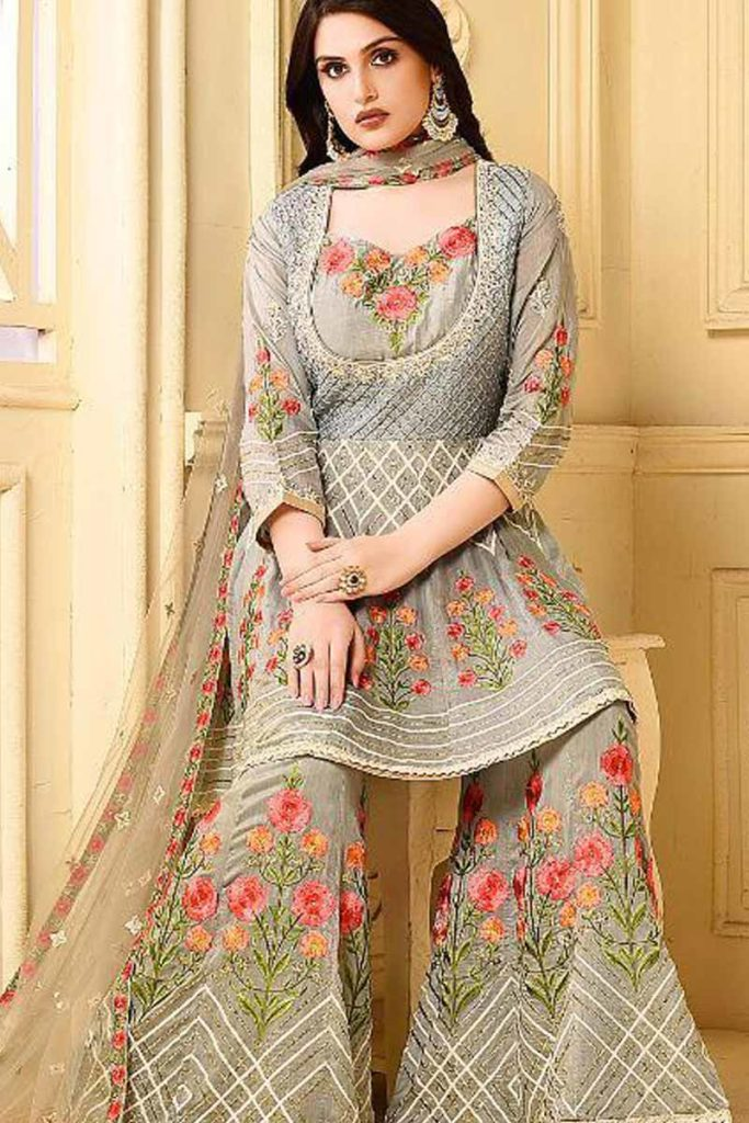 Elegant Sharara Suit