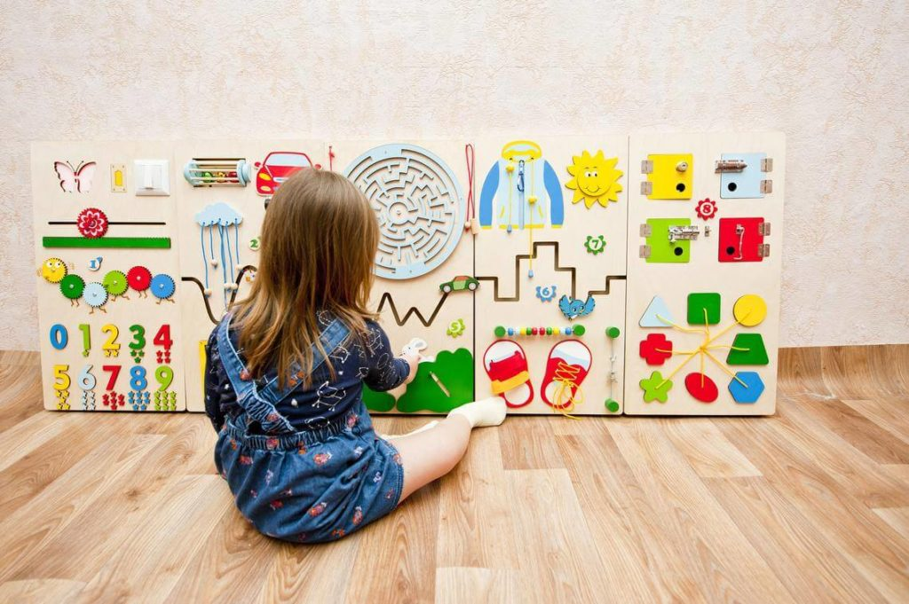 DIY Sensory Board Ideas For Children