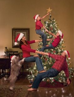 Cute DIY Christmas Photo Ideas