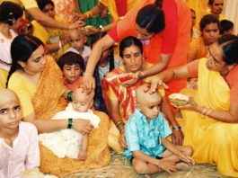 How To Perform Mundan Ceremony For Babies