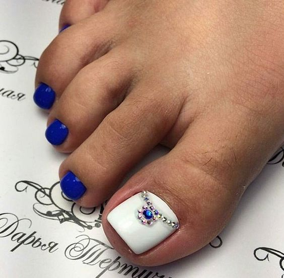 Best Toes Nail Art Ideas For This Summer